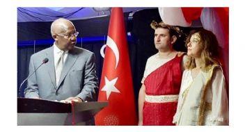 Mitoloji meraklısı kadın büyükelçi Ankara'ya çağrıldı