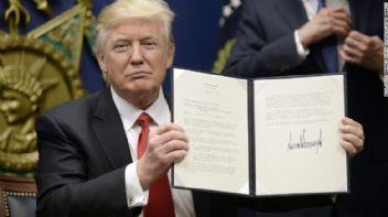 ABD Başkanı Trump'tan göçmen karşıtı imza