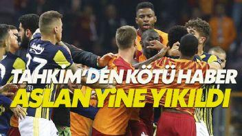 PFDK cezalarına itiraz eden Galatasaray'a kötü haber geldi