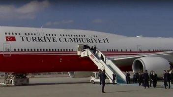 Son dakika Erdoğan yeni vip uçağıyla Paris'e gitti