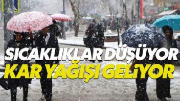 Meteoroloji uyardı: Hafta sonu kar yağışı geliyor
