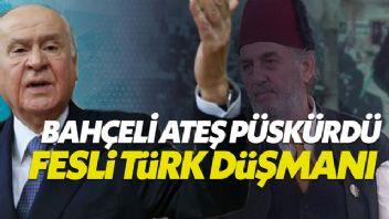 Devlet Bahçeli'den 'Fesli Kadir' tepkisi: Bula bula 10 Kasım'ı mı buldun?