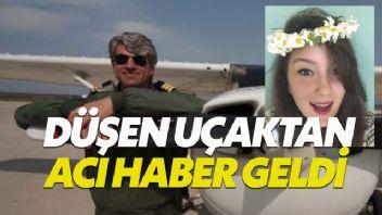 Denizli'de düşen eğitim uçağının yeri tespit edildi
