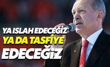 Erdoğan'dan yerel seçim öncesi adaylara gözdağı