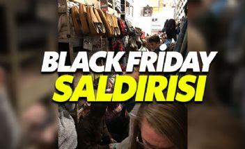 Black Friday çılgınlığına silahlı saldırı