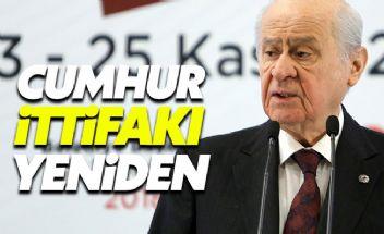 Cumhur İttifakı yeniden kuruldu: MHP 3 büyük ilde yok