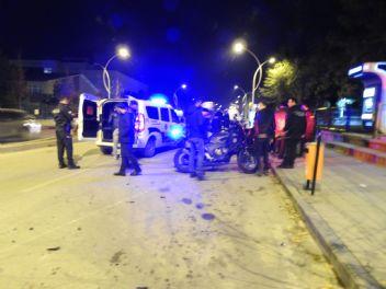 Motosikletli yunus ekipleri kaza yaptı: 4 yaralı