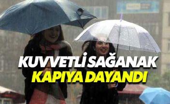 İstanbul'da kuvvetli sağanak yağış bekleniyor