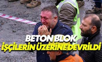 Gebze'de viyadük faciası: 3 işçi öldü 1 işçi yaralandı