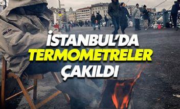 İstanbul'da termometreler çakıldı kar ne zaman yağacak?