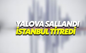 Yalova Çınarcık depremi öncü deprem mi?