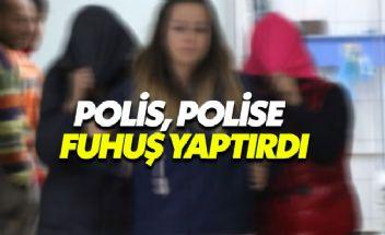 Kadın polis, adliyede görevli polise ve öğretmene fuhuş yaptırdı