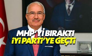 MHP'den istifa eden Kocamaz İYİ Parti saflarına katıldı