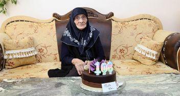 108 yaşında ilk kez doğum günü pastası kesti