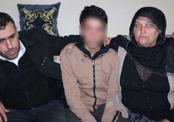 PKK tarafından kaçırılmak istenen genç son anda kurtarıldı