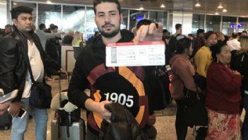 THY'dan Galatasaray taraftarlarına jest