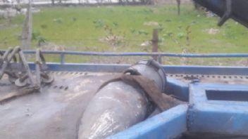 Gölcük'de patlamamış top mermisi bulundu
