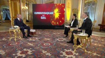 Erdoğan'dan ilginç anket yorumu