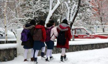 Çanakkale'de okullara kar tatili