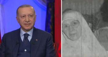 Erdoğan oldukça duygulandı