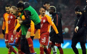 Galatasaray'da 8 oyuncuya kesik