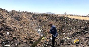 Etiyopya'da korkunç uçak kazası