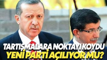 Ahmet Davutoğlu'nun Parti Açacağıyla İlgili Konuya Açıklama Getirildi