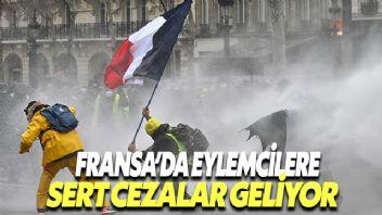 Eylemcilere sert ceza öngören yasa tasarısı Fransa'da onaylandı