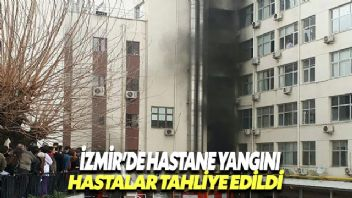 Tepecik Eğitim ve Araştırma Hastanesi'nde trafo patladı. 300 hasta tahliye edildi