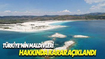 Salda Gölü 'özel çevre koruma bölgesi' ilan edildi