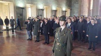 18 Mart Çanakkale Şehitleri Anıtkabir'de anıldı