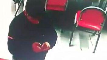 Hırsız evde düşürdüğü kupon sayesinde yakalandı