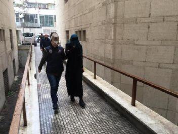 Bursa'da yakalanan kadın terörist Interpol'e teslim edildi