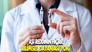 Türk Eczacılar Birliği: Aşı reddinin hiçbir bilimsel dayanağı yok