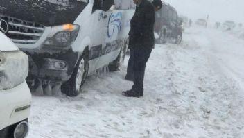 Van'da kar kalınlığı 20 santimetreye ulaştı
