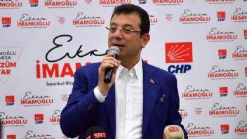 CHP istanbul'u kazandı. İmamoğlu yeni başkan
