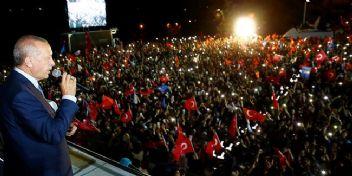 Cumhurbaşkanı Erdoğan, Büyükşehirleri kazanmasakda, ilçeleri kazandık
