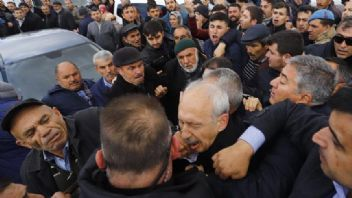 Cenazede Kılıçdaroğlu'na saldırdılar; Provokatörler tespit edildi