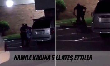 Gözaltına alamadığı hamile kadına kurşun yağdırdı !!