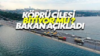 İstanbul'da Köprü Çalışması Bitiyor Mu?
