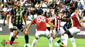Fenerbahçe'ye Sivas darbesi: 1-2