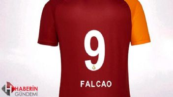 Falcao için forma sarışı rekoru