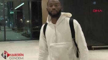 Kevin N'Koudou Beşiktaş için İstanbul'da