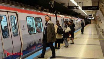 İstanbul'da 6 metro hattı ile 24 İETT hattı 24 saat hizmette