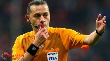 Galatasaray Fenerbahçe derbisine Cüneyt Çakır