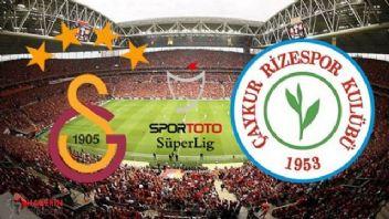 Galatasaray Rizespor Şifresiz Canlı izle Netspor Taraftarium Jestyayın