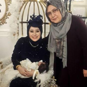 Büşra Nur Çalar'ın bebek mevlidi olay oldu