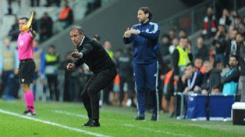 Beşiktaş Slovan Bratislava maçında gerginlik