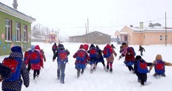 Erzincan'da okullar tatil