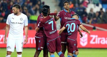 Trabzonspor'a ikinci yarı yetti: 4-1